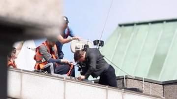 هكذا أصيب توم كروز أثناء تصويره Mission: Impossible 6..بالفيديو