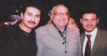 صورة لـ رامز جلال مع والده وشقيقه!