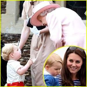 الامير جورج لديه لقب خاص للملكة إليزابيث
