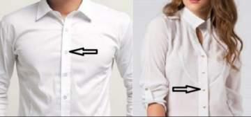 لماذا يختلف تموضع الأزرار في الثياب بين النساء والرجال؟ إليكم السبب