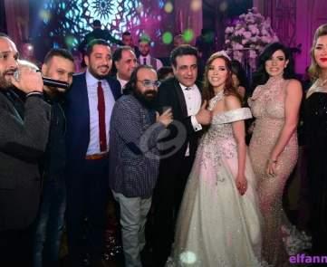 نجوم الأغنية يشعلون زفاف محمد رحيم وأنوسة كوتة