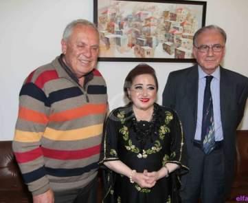 تكريم هيام يونس في دار نعمان للثقافة