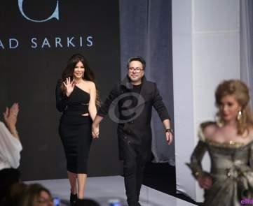 فؤاد سركيس ومي حريري يختتمان أسبوع بيروت للموضة في مصر