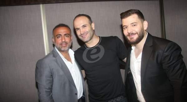 خاص بالفيديو - أيمن زبيب وحسام جنيد في حفل ضخم ناجح!