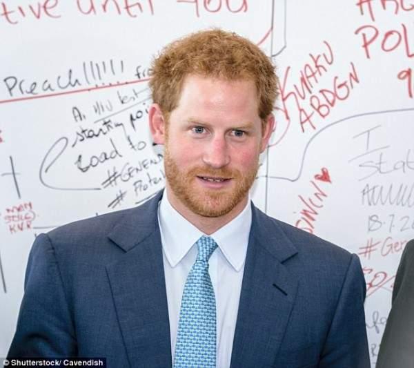 الأمير هاري يحظى باللحية الأكثر إثارة في العالم