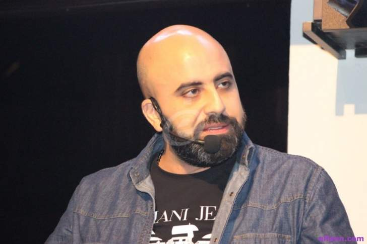هشام حداد يرزق بـ