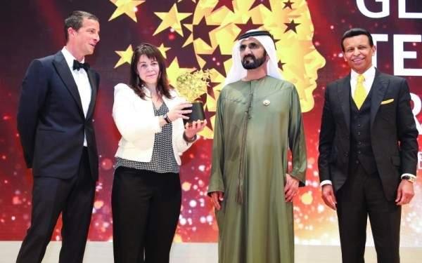 أفضل معلمة في العالم تفوز بجائزة قيمتها مليون دولار
