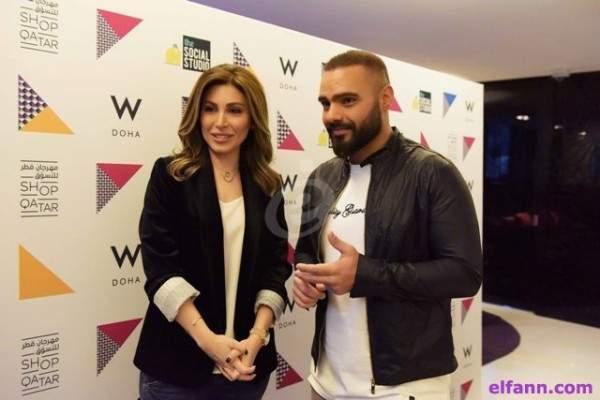 يارا وجوزيف عطية يحوّلان حفلهما في الدوحة إلى مهرجان