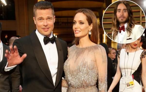 براد بيت: كنت أعلم أن أنجلينا معجبة بـ جاريد ليتو