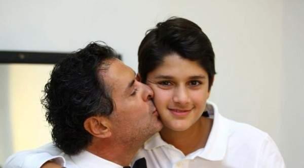 راغب علامة يحتفل بعيد إبنه :