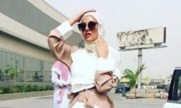 مريم أوزرلي بالحجاب في السعودية.. بالفيديو
