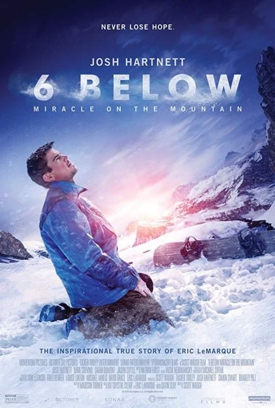 فيلم 6 Below يحكي قصة تحدي حقيقية لمتزلج شهير