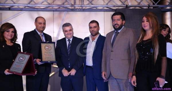 في حفل توزيع جوائز نجوم درامانا 2 أيمن زيدان وسلوم حداد فائزان ودريد لحام مكرّماً