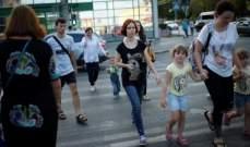 استخدام الهاتف أثناء عبور الشارع بشيكاغو سيكلف 500 دولار!
