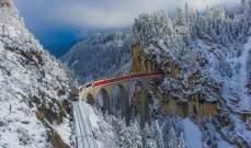 سويسرا تفتتح أعلى قطار معلق في العالم