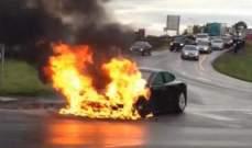 """إنتاج بطارية لسيارة """"تسلا"""" لا يقل خطرا  تعمل على الوقود"""