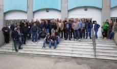 """اضراب واعتصام لعمال ومستخدمي """"اوجيرو"""" في صيدا"""