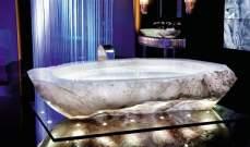 مليون دولار..قيمة أغلى حوض استحمام في العالم !!
