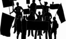 سلسلة تحركات مطلبية في ساحة رياض الصلح قبيل بدء الجلسة النيابية العامة