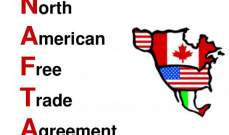 """تعديل اتفاقية التجارة الحرة لأميركا الشمالية """"نافتا""""في واشنطنقريباً"""