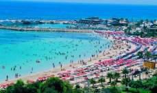 قبرص تحطم الرقم القياسي لعدد السياح لعام 2017