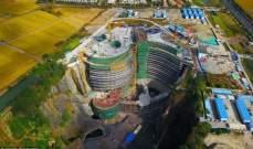 """شركة """"Atkins"""" تقترب منإتمام عملية إنشاء فندق """"إنتركونتننتال شيماو"""" الأرضيذو طابقين تحت الماء"""
