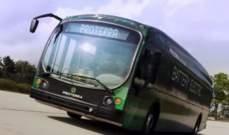 بالفيديو: حافلة كهربائية جديدة يمكنها السير 1.101.2 ميل عبر شحنة واحدة