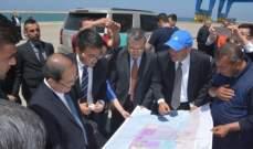 وفد اقتصادي صيني جال على مرافق طرابلسية واطلع على القدرات الاقتصادية وامكانات الاستثمار