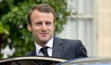 ماكرون: اتفاق بين بريطانيا والاتحاد الأوروبي يتماشى مع المصالح المشتركة