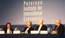 """""""بيترسون للاقتصاد الدولي"""": اميركا تتجه نحو الركود في العامين المقبلين"""