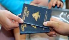 لبنان يحتلّ المرتبة 88 في العالم في مؤشّر جواز السفر للعام 2017