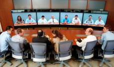 """Telepresence"" تقنيةللتواصل عن بعدمن خلال شاشات عالية الوضوح"