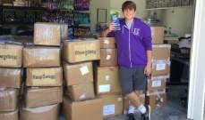 طالب بالمدرسة الثانوية يبيع جوارب بمليون دولار سنوياً