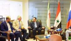 روسيا ستقدم تسهيلات للوفود السورية المشاركة في منتدى رجال الأعمال