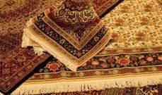 ارتفاع قيمة صادرات السجاد الايراني الى 424 مليون دولار