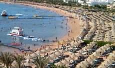 مصر: ارتفاع إيرادات السياحة بنسبة 212%