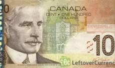 الدولار الكندي ينخفض الى 1.269 دولار أميركي