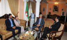 رجال وسيدات الأعمال اللبنانيين يلتقون السفير الجزائري في لبنان