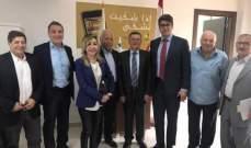 لقاء تجمّع المطاحن اللبنانية بوزير الاقتصاد