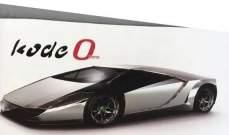 """مصمم سيارة """"Enzo"""" يقدم سيارته الرياضية الجديدة"""