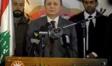 الاسمر: مفاعيل المادة 49 من الموازنة تمس بوجودنا في لبنان