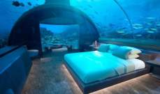 """فندق """"كونراد المالديف"""" يفتتح أول فيلا تحت الماء بنهاية 2018"""