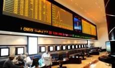 تراجع بورصة عمان بنسبة 0.87% إلى مستوى 4999.37 نقطة