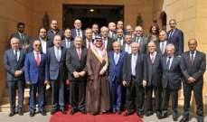 بخاري يستقبل مجلس الأعمال اللبناني-السعودي ووفداً ضم مدراء عامين ورجال أعمال