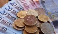 اليورو يتراجع  بنسبة 0.42% إلى 1.2237 دولار