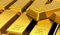 الذهب يسجل أكبر خسائر يومية منذ تموز ويغلق أدنى 1300 دولار