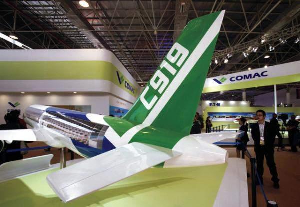 """""""كوماك"""": تأجيل الرحلة التجريبية الثالثة للطائرة """"C919"""""""