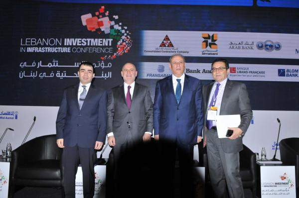 مؤتمر الاستثمار في البنى التحتية في لبنان ينهي أعماله: طرح مشاريع المطار والكهرباء والاتصالات
