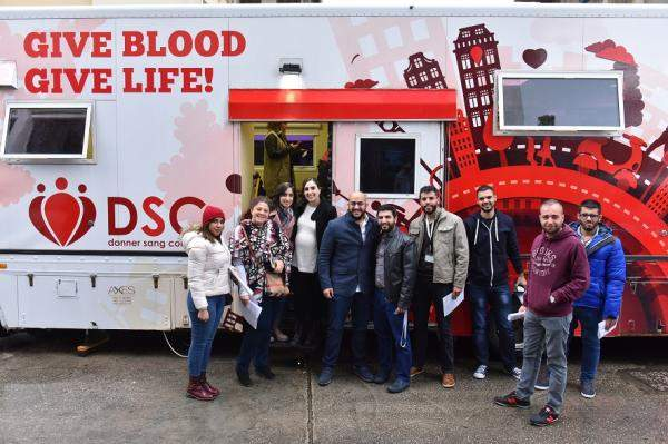 """""""تاتش"""" و""""Donner Sang Compter"""" نظّما 15 حملة للتبرّع بالدم إستفاد منها 1800 مريض"""