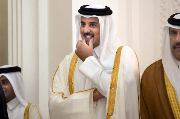 أمير قطر خلال استقباله عون: مستعدون للمساهمة في مشاريع التنمية في لبنان